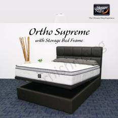 sleepy night single ortho supreme mattress with jean storage bedframe - Sleepy Mattress