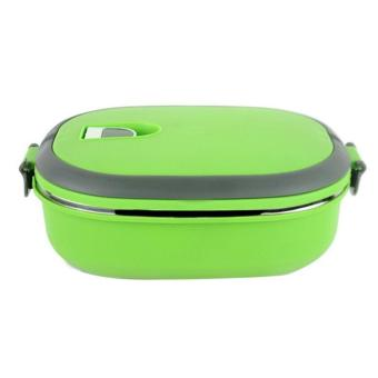 Stainless Steel Insulation Thermal Lunch Bento Box size:1 Layer -intl