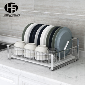 Storage dishes rack stainless steel dish rack