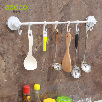 Strong suction bathroom traceless wall hangers stick hook kitchen adhesive hook