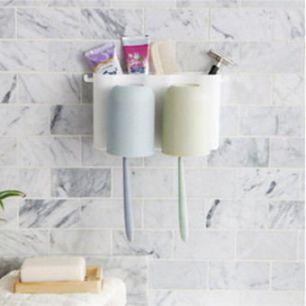 Toothbrush toothpaste wall hangers storage rack toothbrush holder