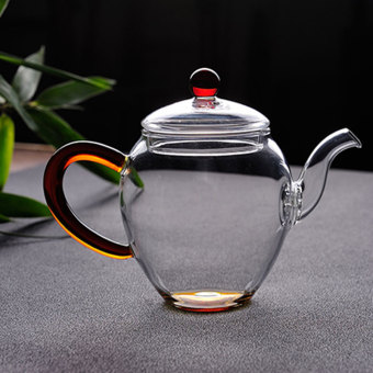 Transparent Heat-resistant glass filter tea pot glass teapot