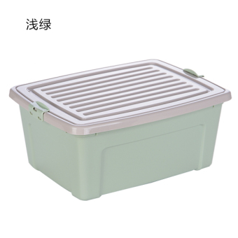 With lock storage box plastic storage box