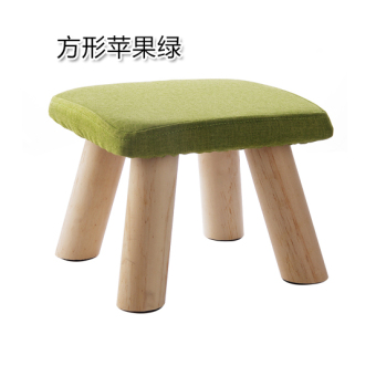 Yousiju Fabric Chair with Wooden Leg