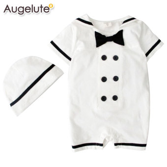 Baby cotton men and women summer one-piece crawling clothes