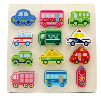 Baby geometry cognitive building blocks toy puzzle board shapepuzzle graphics puzzle matching infants and children ENLIGHTENearly childhood