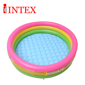 Baobao double playing in the water ball pool infants shower basin baby pool