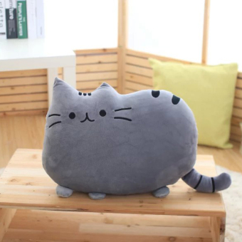 Cartoon cookie pillow cat doll