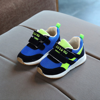 Casual mesh slip breathable performance shoes children's shoes