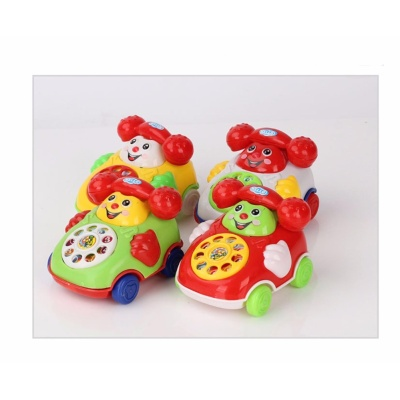 GETEK Details about Baby Toys Music Cartoon Phone Educational Developmental Kids Toy Gift New - intl