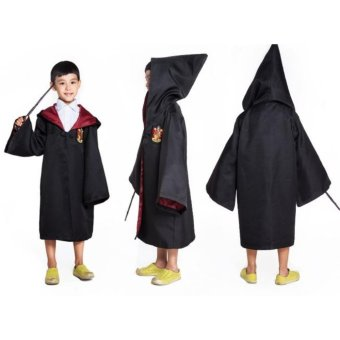 Harry Potter Kids Gryffindor Cloak Robe Costumes Cosplay Size - 145- intl