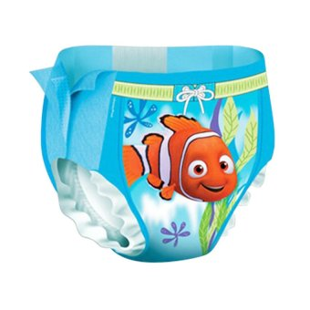 Huggies Little Swimmers Baby Swimming Pool Diapers Medium Size 2ea (EXPORT)