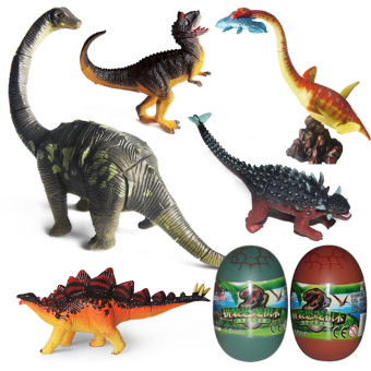 Jurassic children 4D Educational Building Blocks model dinosaur egg