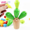 Large beaded around the bead toys for children intelligence wooden building blocks disassembly 1-3-6 years old baby early childhood development benefits