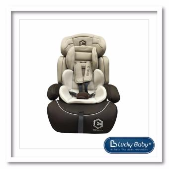 Lucky Baby(R) 508138 Evolo(TM) Safety Car Seat-Beige/Brown