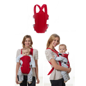 PAlight Practical Breathable Mesh Baby Wrap carrier (Red)