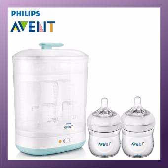 Philips Avent 2-in-1 Steam Steriliser Exclusive Bundle