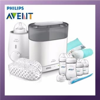 Philips Avent 4 in 1 Steam Sterilizer With Warmer Bundle