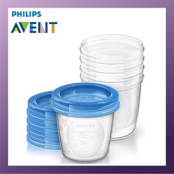 PHILIPS AVENT Breast Milk and Food Storage Cup 5 x 240ml