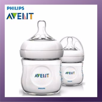 PHILIPS AVENT Natural Bottle 125ml Twin Pack