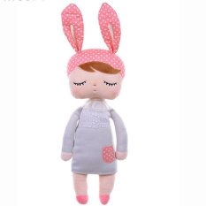 Cute Soft Infant Baby Pillow Bunny Head Shape Seven Hollow Fibre Yellow - Daftar Update Harga Terbaru Indonesia