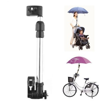 Useful Baby Buggy Pram Stroller Umbrella Holder Mount Stand HandleBlack - intl