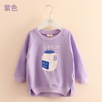 Wt-5872 Korean-style New style girls children's hedging jacket hoodie