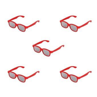 D Glasses Cinema No Lens