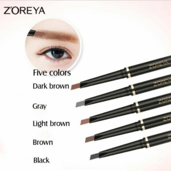3D Waterproof Eyes Brow Pencil With Eyebrow Comb (Natural Brown)