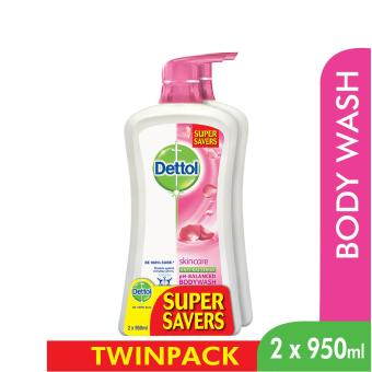 Dettol Body Wash Skincare P&P 950Ml x 2