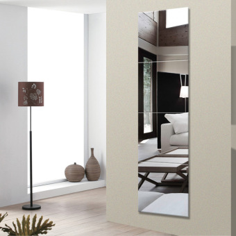 Dormitory artifact body mirror dressing mirror makeup mirrorbedroom paste wall combination box mirror