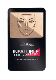 L'Oreal Paris Infallible Pro Contour Palette 813 Light Clair