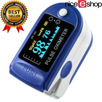 niceEshop Finger Pulse Oximeter Finger Oxygen Meter With Pulse Rate Monitor, Blue