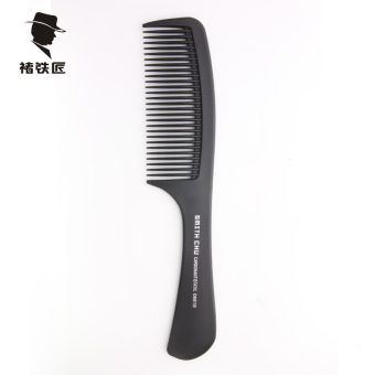 Professional hair comb pointed tail comb anti-static men's barber Comb Flat Head comb hair styling large tooth comb