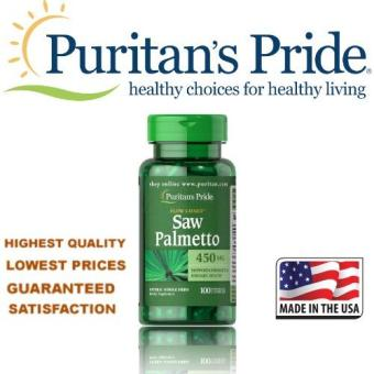 Puritan's Pride Saw Palmetto 450 mg / 100 Capsules / Item #003531