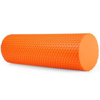 3.93 inches EVA Yoga Pilates Fitness Exercise Massage Gym Foam Roller Orange