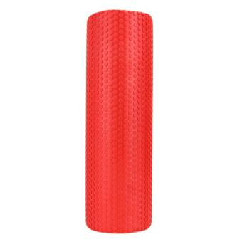 45x15cm EVA Foam Roller Yoga Pilates with Massage FloatingPoints(Red) - intl