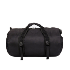 50ltear-Resistant Waterproof Nylon Foldable Duffle Bag For Gym Or Luggage-Black