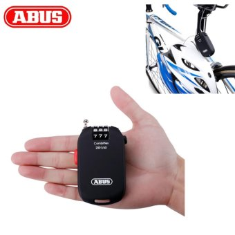 ABUS Cycling Bike Bicycle Ultralight Password Cable Lock Portable - intl