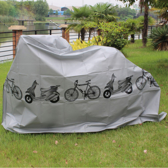 Allwin Waterproof Bicycle Bike Cycling Cover Rain Dust Garage Outdoor Protector