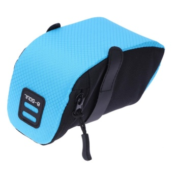 Bicycle Bike Waterproof Storage Saddle Bag Seat Cycling Tail Rear Pouch - intl