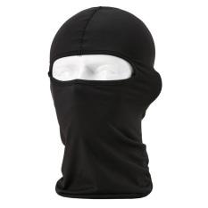Black Cycling Ski Neck Protecting Outdoor Lycra Balaclava Full Face Mask