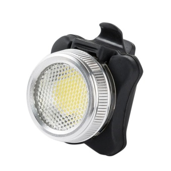 Cycling Bicycle Bike 3 COB LED Head Front Rear Tail Light Rechargeable - intl