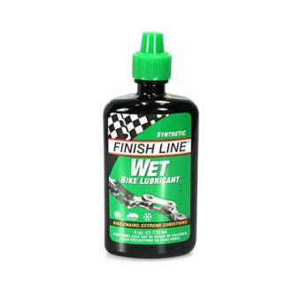Finish Line Bicycle Bike Chain Wet Lube Lubricant 120ml (4oz)