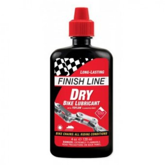 Finish Line Teflon Plus Dry Bike Bicycle Lubricant 4 oz