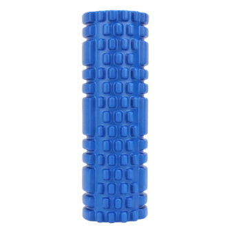 Fitness Floating Point Yoga Foam Roller for Gym Sports Massage (Blue) - intl