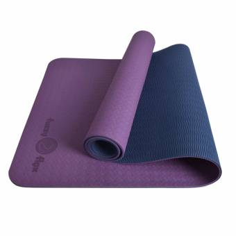 Fuzzy Flex Eco-Flex Premium Yoga Mat Purple Blue