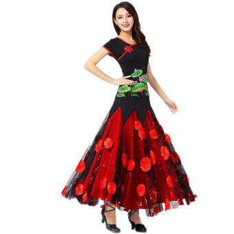 Modern GB Dance clothes ballroom dance skirts costume