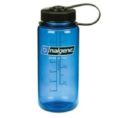 Nalgene 16oz Wide Mouth Bottle(blue)