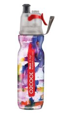 O2cool Insulated Mist &039;n Sip 20 Oz Bottle ( Multi-Watercolor)